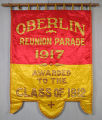 Reunion parade banner, Class of 1912