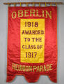 Reunion parade banner, Class of 1917