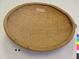 Top View of Winnowing Basket with...