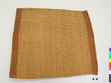 Front View of woven Eating Mat...