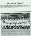 First Women's  Varsity Soccer Team, 1985-1986